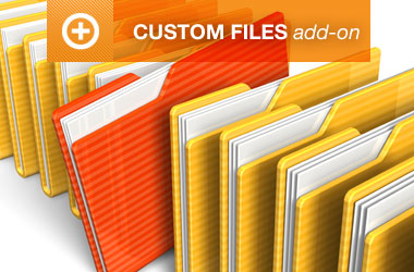 Custom Files Add-on
