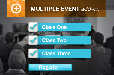 Multiple Event Registration Add-on