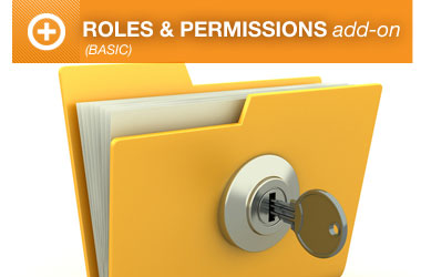 Roles and Permissions Basic Add-on