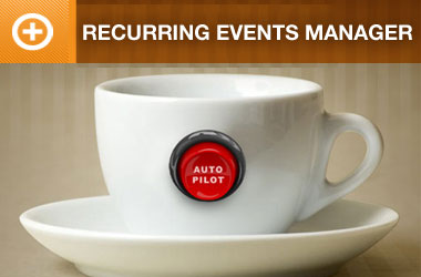 Recurring Events Manager Addon