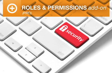 Roles and Permissions Pro Add-on