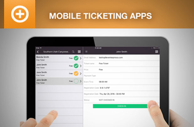 Mobile Attendance & Ticketing Apps