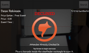 Event Espresso Mobile App Unsuccessful