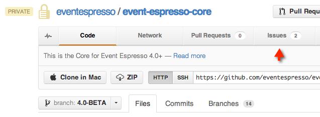 Testing EE4 Issues GitHub