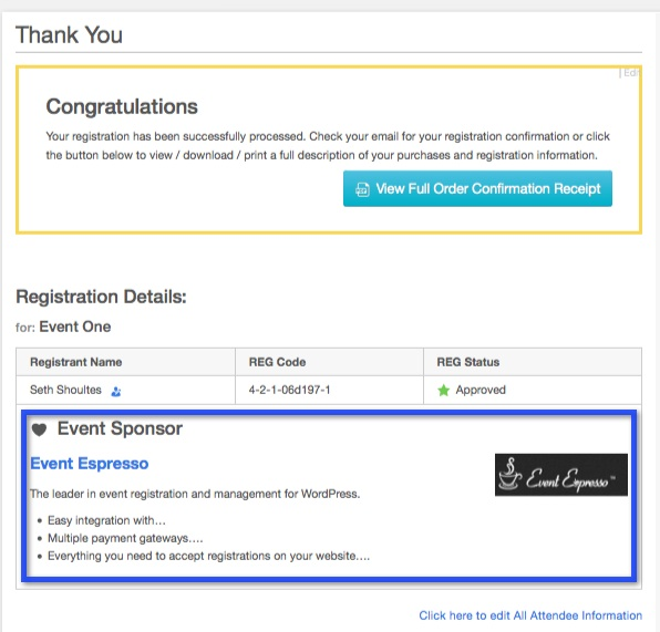 Add A Sponsors Section To Events Using Advanced Custom