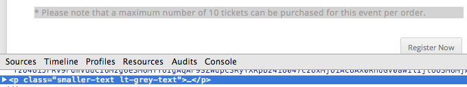 chrome-developer-tools-maximum-tickets