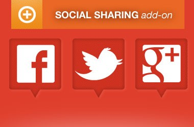 Events Social Sharing Integration