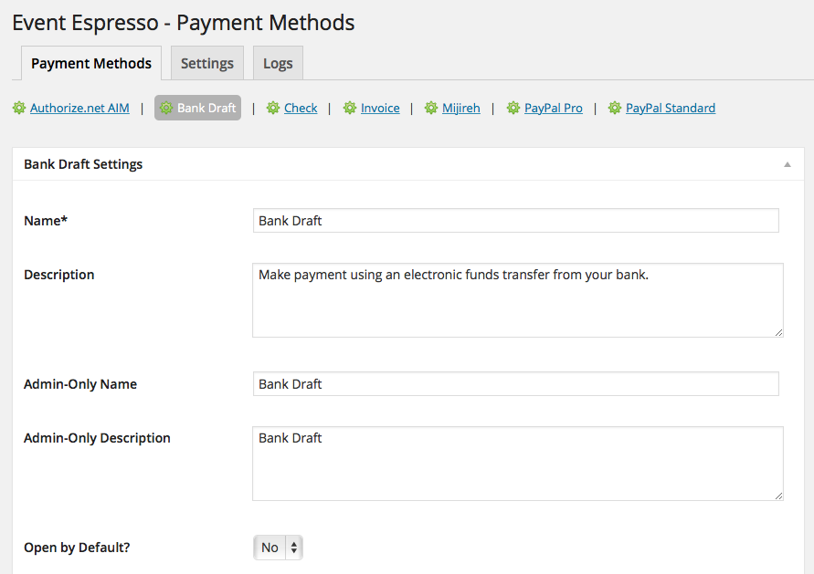 event-espresso-4-bank-draft-payment-method