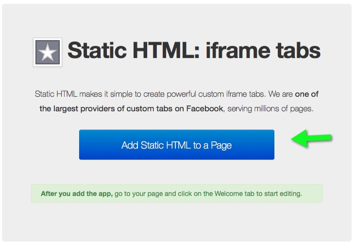 facebook-static-html-button