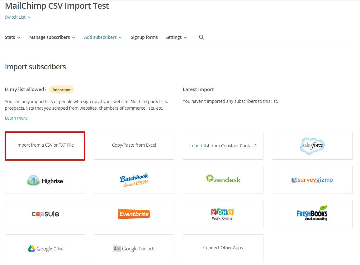 mailchimp-import-csv-or-txt