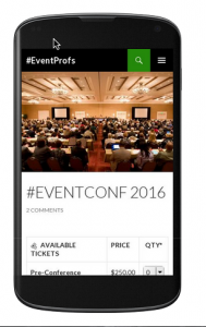 Twenty Fourteen Mobile-Friendly Theme with Event Espresso