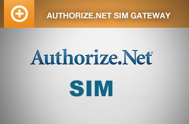 EE4 Authorize.Net SIM Payment Gateway