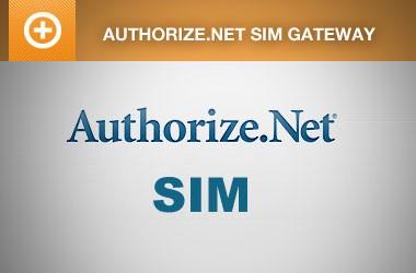EE4 Authorize.Net SIM Payment Gateway