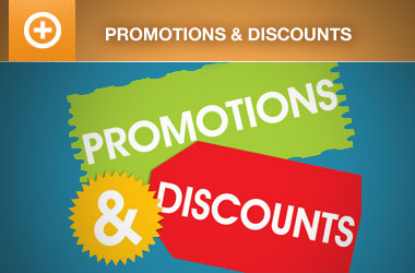 Promotions and Discount Codes