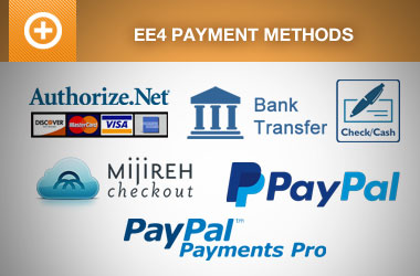 Included EE4 Payment Methods
