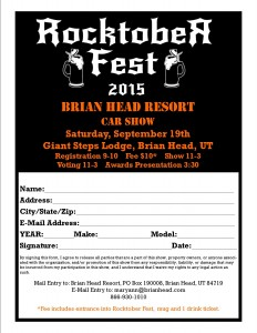 car show registration form template pdf