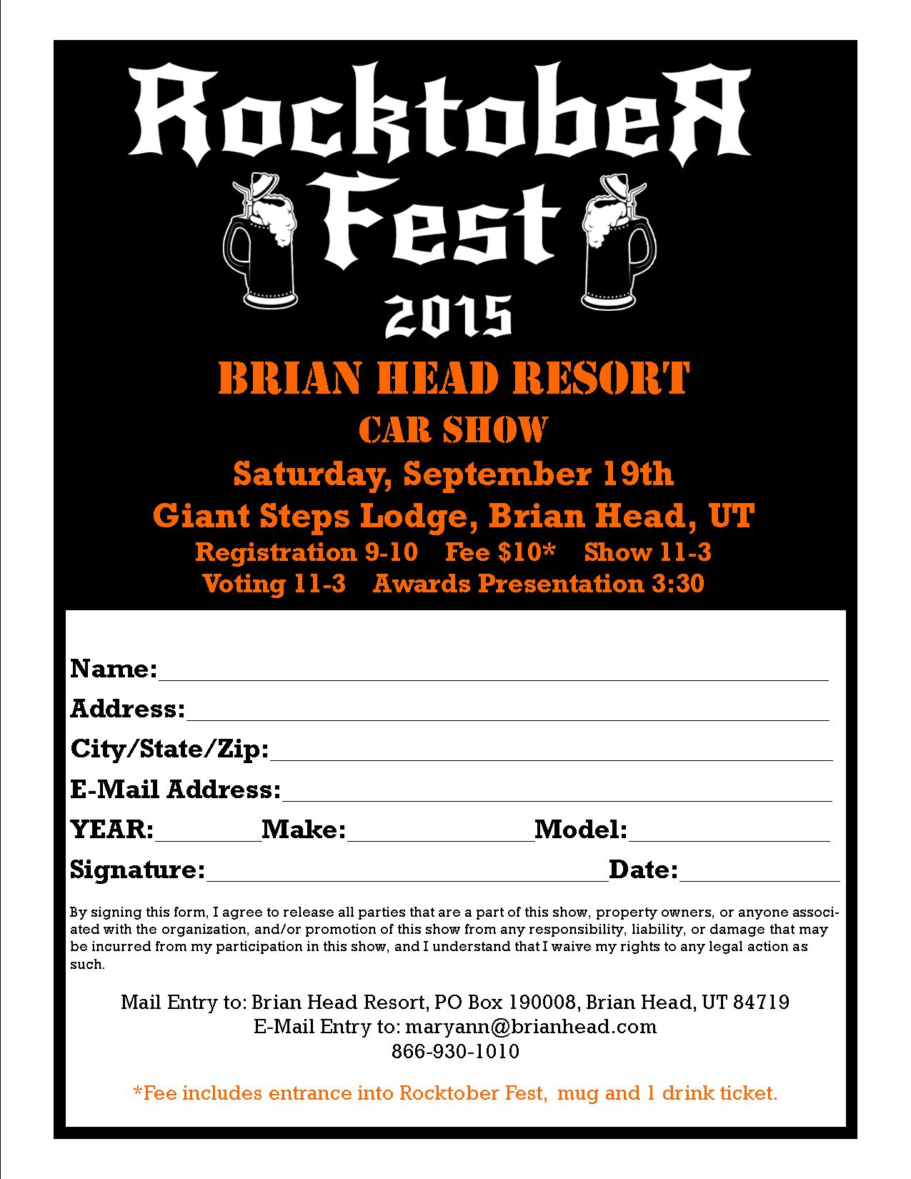 Car Show Registration & Ticket Sales on your Website