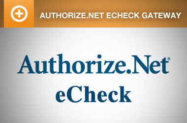 EE4 Authorize.Net eCheck Payment Gateway
