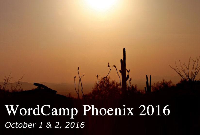wordcamp phoenix 2016