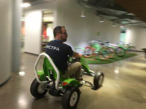 Adam Warner at GoDaddy headquarters