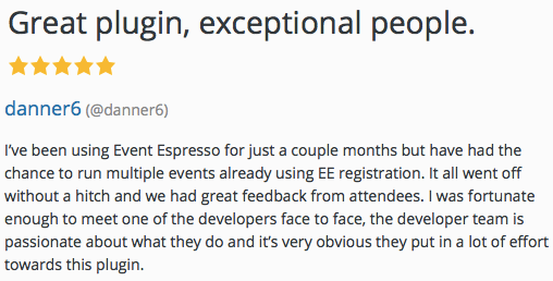 I've been using Event Espresso for just a couple months but have had the chance to run multiple events already using Event Espresso's registration.