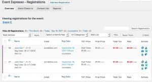 Wait List Admin Overview