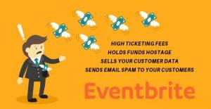 Eventbrite Taking Your Money