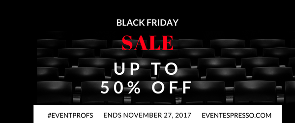 Black Friday and Cyber Monday Sale - Save 25-50% Event Espresso