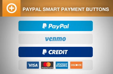 PayPal Express Checkout Smart Payment Buttons (with Venmo)