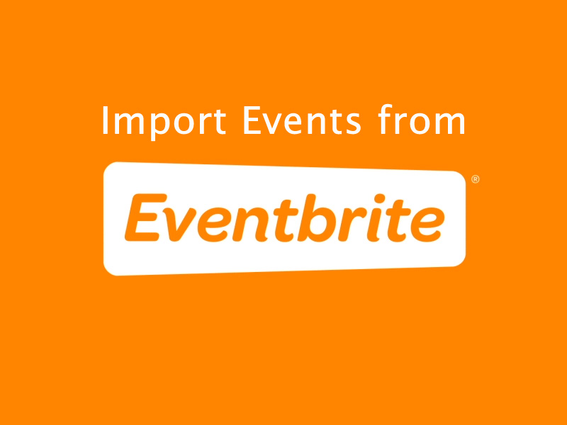 Import Events from Eventbrite
