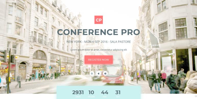 conference-pro wordpress theme