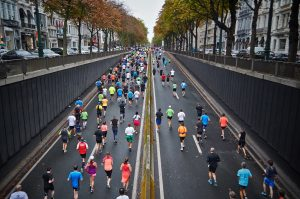 Event registrations for marathons