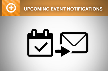 Automated Upcoming Event Notifications